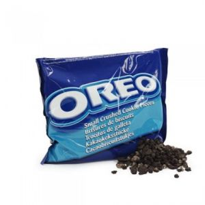 Oreo-Small Crushed Cookie Pieces
